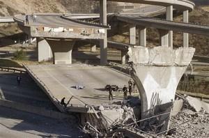 Northridge  California Earthquake  (AP Photo/Doug Pizac, File)