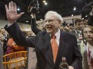 Buffett at Berkshire Annual Meeting 2013 AP Photo/Nati Harnik