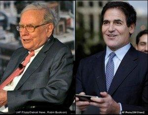 Buffett and Cuban