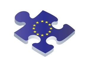 European Union EU puzzle