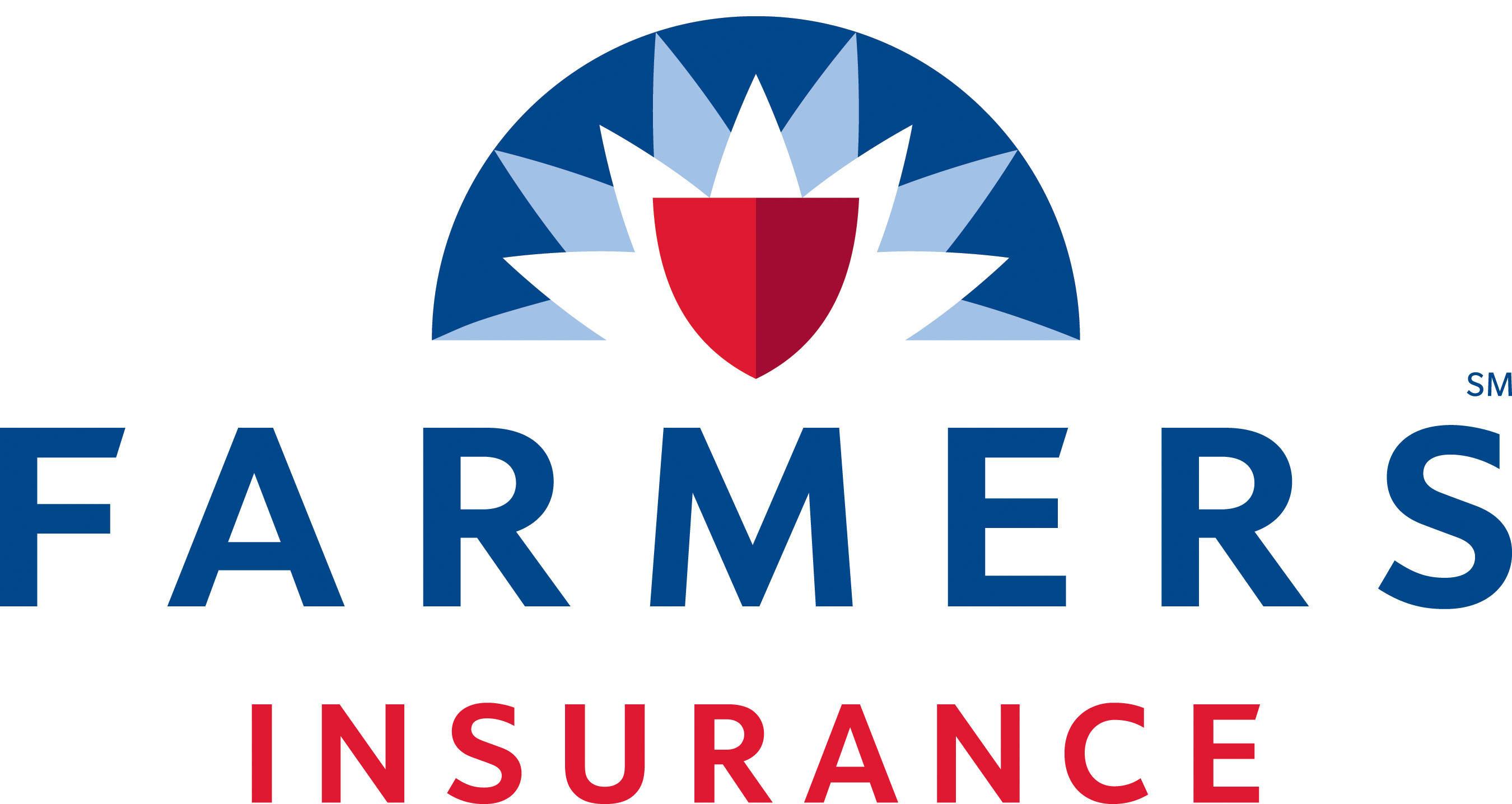 Farmers Insurance Logo White