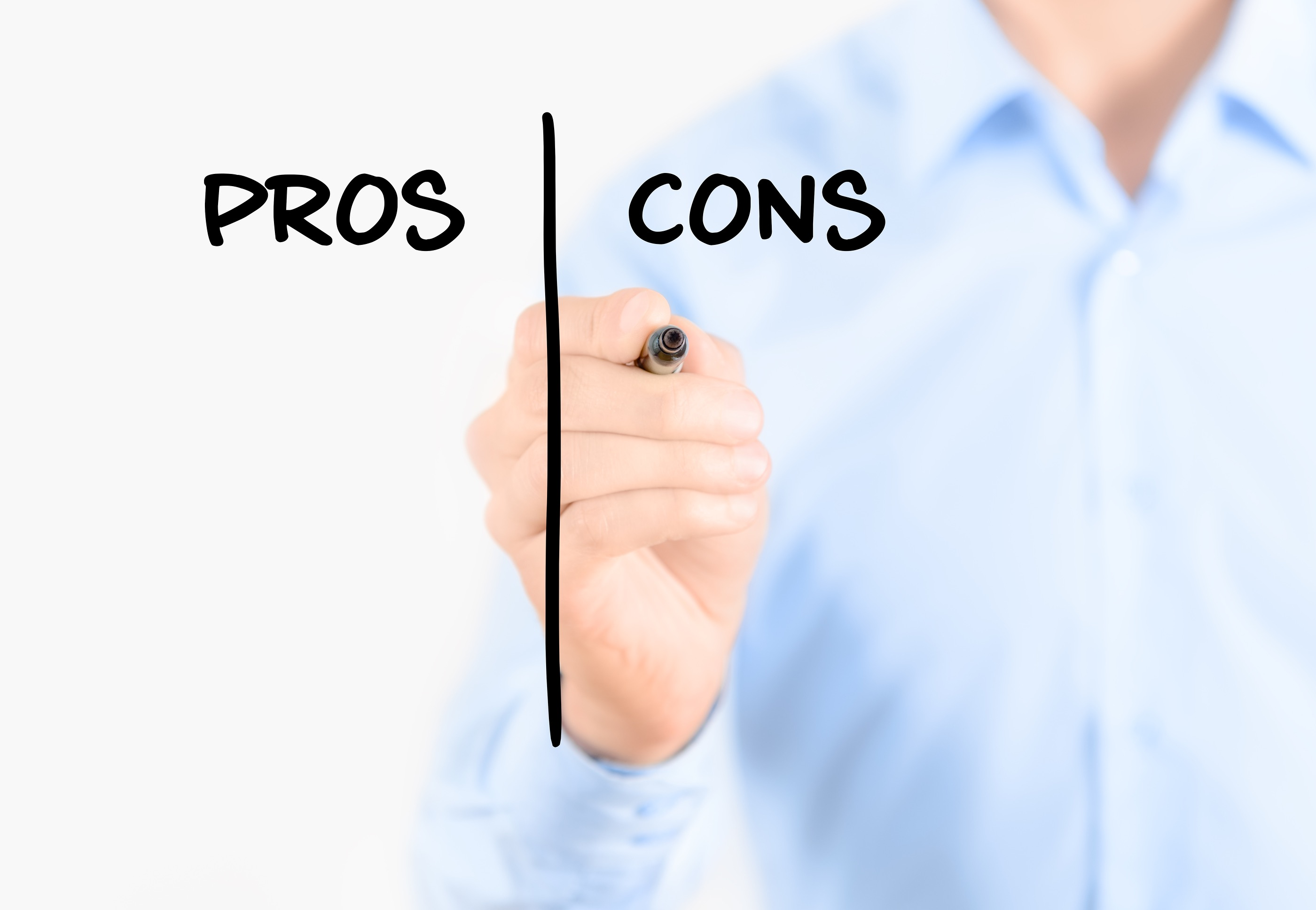 analysis pro vs con Transcript of qualititative and quantitative research the pro's and con's qualitative research allows one to explore topics in more depth and detail than quantitative research  quantitative: pros one con of quantitative research is the limited ability to probe answers.