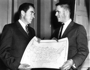 VP Nixon with Haldeman March, 1960. Ap Photo:Nixon Campaign Headquarters