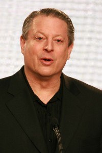 Former U.S. Vice President Al Gore speaking at a different climate event in 2007.