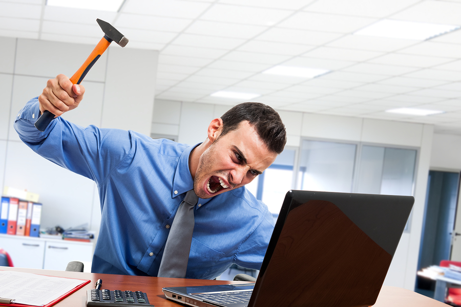 Companies Perceived as Too Tolerant of 'Toxic Employees ... Angry Computer Guy