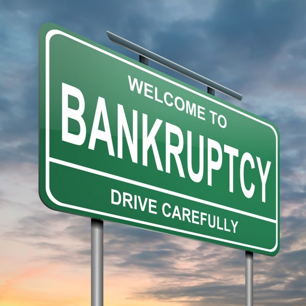 Take caution with cash before bankruptcy