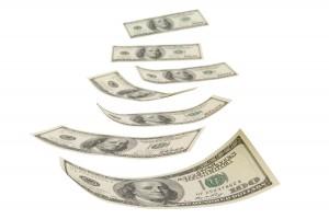 bigstock-Financial-Prospect-money falling-dividends-14620526