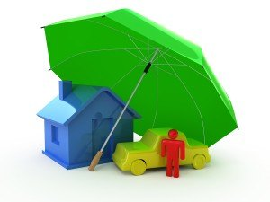 bigstock-House-auto-perosn-umbrella-8061234