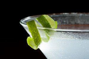 Lime Twist Garnish