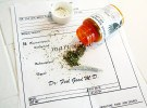 "Medical Marijuana prescription with a ""Bud"" some ""Shake"" and a """