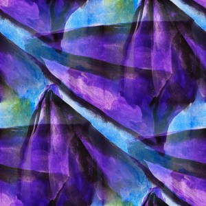 seamless cubism purple, blue abstract art Picasso texture waterc