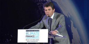 AXA CEO Henri de Castries at Climate Finance Day